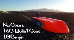 速すぎるラジコンカー 新記録315km/h達成動画