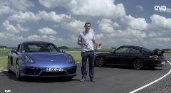 ポルシェ 996 GT3 vs ケイマン GTS サーキットでタイムを比較しちゃう動画