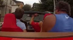 フェラーリ カリフォルニアのレンタカーでやっちまった動画