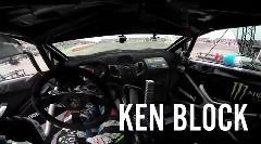 ケン・ブロック 2014 Monster Energy Nagoya Experience ジムカーナタイムトライアルのフルオンボード動画