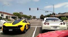 「本気出してねーし」 日産 GT-R vs マクラーレン P1 公道シグナルグランプリ動画