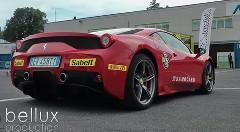 日産 GT-R vs フェラーリ 458 スペチアーレ サーキットバトル動画