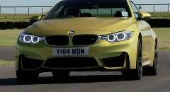 BMW M4 vs ポルシェ 991 カレラ サーキットタイムアタック動画