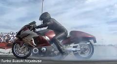 900馬力 日産 GT-R vs 500馬力 ターボハヤブサ 加速対決動画
