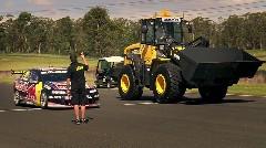 レーシングカー vs ホイールローダー トップギア面白対決動画