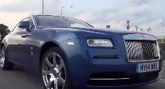632馬力の高級車 ロールスロイス レイスの0-100km/hを測ってみた動画