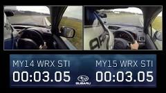 スバル 新型 WRX STI vs 旧型 WRX STI 新旧走行性能比較動画