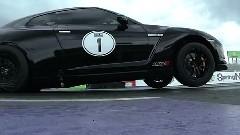 はえー!世界最速日産GT-R ゼロヨン7.700秒新記録動画