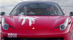 フェラーリ 458 と共演しちゃう無駄にカッコイイRCドローンのプロモーション動画