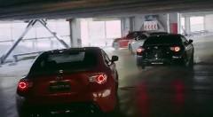 13台のトヨタ車が超絶ドラテクでピタゴラスイッチをしちゃう動画