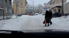 極寒の地ロシアで遭遇した予想外の動画