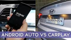 アップルのCarPlayとグーグルのAndroid Autoを比べてみた動画
