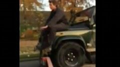 スペアタイヤがなくてもどうにかなっちゃうポーランド式スペアタイヤ動画
