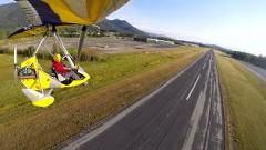 美しきウルトラライトプレーンの着陸シーンあれこれ