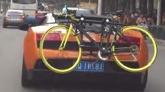 あんちゃん「ドライブ先でもサイクリングしたいからよ」 ドデカク使おう ランボだよ