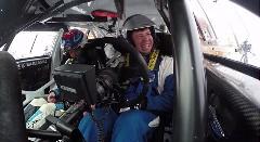 素人が本物のスバルWRX STI のラリーカーを運転してみた→エンスト