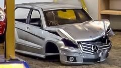 RCカーの廃棄はおまかせ!自動車スクラップ工場のミニチュアがすげー!っていう動画