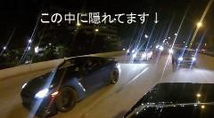 GT-Rと公道でドラッグレースしてたら警察に捕まっちゃった動画