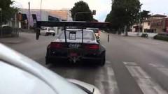 ド迫力すぎる714馬力のV8を積んだシルビアが公道を走ってる動画