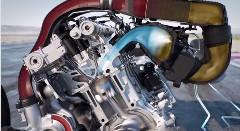 BMW M4 のウォーターインジェクションがわかる動画