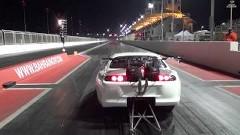 はえー!世界一速いドラッグスープラ ゼロヨン5.97秒 終速387km/hを記録しちゃう動画