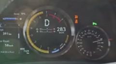 レクサス RC F 280km/h加速動画