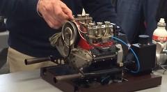 ポルシェ 911 の3分の1スケール自作ミニュチュアエンジンがスゲー!っていう動画