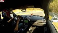 ポルシェ ケイマン GT4 ニュル7分42秒39 フルオンボード動画