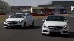 メルセデス A45 AMG vs CLS 63 AMG S ドラッグレース対決動画