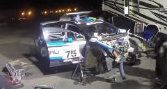 スバル ラリーチームの3時間エンジンスワップ タイムラプス動画