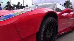 超車高短フェラーリ 458 のリフティングシステム動画