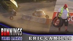 WRC フォード フィエスタのホイールが割れちゃうアクシデント動画