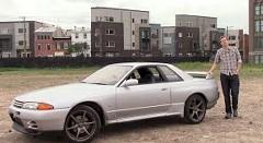 アメリカで日産 R32スカイラインGT-Rをドライブすると注目されまくりwwwっていう動画