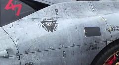 ジェット戦闘機風なラッピングがカッチョイイフェラーリ 458 スペチアーレ