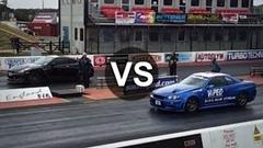 1500馬力のR34 スカイライン GT-R 速すぎwwwっていう動画
