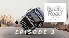 ボルボトラックが片輪走行しちゃうスゴ技スタント動画