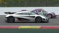 ケーニグセグ One:1 が速すぎて他の車が雑魚すぎる動画