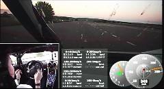 スゲー!!!ケーニグセグ One:1 驚愕の0-300-0km/h 17秒95オンボード動画
