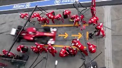 F1、インディ、フォーミュラ E、NASCAR、WEC 各レースのピットストップを比較してみた動画