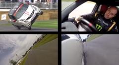 スゲー!日産 ジューク NISMO RS グッドウッド片輪走行 2分10秒 フルオンボード動画