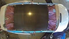 BMW M3 のルーフをカーボンルーフに改造しちゃうタイムラプス動画