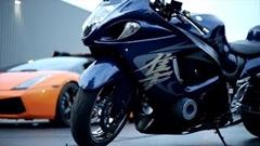 はえー!ターボ ハヤブサ vs 1250馬力 GT-R、ガヤルド 公道加速対決動画