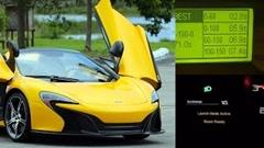 マクラーレン 650S 0-60mph(0-96km/h) 2.8秒 実測動画