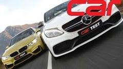 BMW M3 vs AMG C63 S 加速対決動画