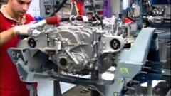 フェラーリ カリフォルニアの製作過程を見てみようっていう動画