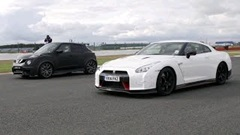 日産 GT-R NISMO vs ジュークR 2.0 ドラッグレース動画