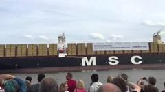 コンテナ船が汽笛でスターウォーズのテーマを演奏しちゃう動画