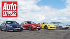 ローンチコントロールは本当に速いのか!? C63 AMG vs M4 vs 911 C4 vs GTS vs ポロ 実験動画