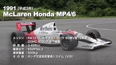 マクラーレン・ホンダ、ロータス・ホンダ、ウィリアムズ・ホンダ 歴代ホンダF1をテストするよ