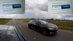 テスラ モデルS P90D vs P85D 加速対決動画